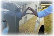 思わず見惚れる艶・撥水!洗車後の濡れたボディーをサッと一拭きでコーティング!ガラス系コーティング『ラスターベール』300ml/2013年ランキングコーティング部門第2位