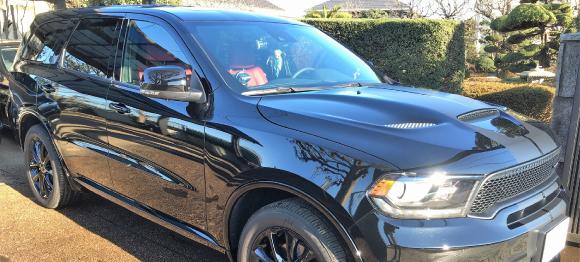 コーティング施工車にも安心の人気カーシャンプー/マイルドケアシャンプーで艶ピカのダッジ・デュランゴの評価・レビュー・口コミ