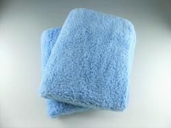 洗車用クロスとして最適なハイブリッドナノガラスのムートン・マイクロファイバークロス「ムートンクロス」は2枚セットでのお届け