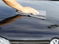 コーティング剤塗り込み後の拭き上げや仕上げ拭きにも最適!マイクロファイバー繊維を大幅増量していますのでスッキリ拭き上がります