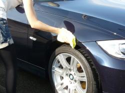 車のガラスコーティング  ハイブリッドナノガラス コーティング前処理パーフェクトシャンプー6