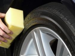 車のガラスコーティング  ハイブリッドナノガラス コーティング前処理 タイヤコーティング エクストラ4