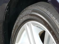 車のガラスコーティング  ハイブリッドナノガラス コーティング前処理 タイヤコーティング ベーシック5