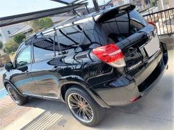 洗車後そのまま施工できる激艶コーティング/グロスフォームコートをトヨタヴァンガードへの施工例・評判・レビュー・口コミ