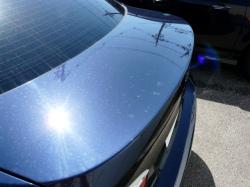 ガラスコーティング W-SHIELD シミ・固着汚れのメンテナンス BMW3シリーズのトランク1