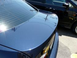 ガラスコーティング W-SHIELD シミ・固着汚れのメンテナンス BMW3シリーズのトランク3