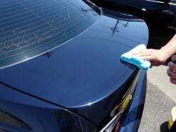ガラスコーティング W−SHIELD シミ・固着汚れのメンテナンス BMW3シリーズ8