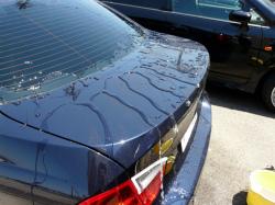 ガラスコーティング W−SHIELD シミ・固着汚れのメンテナンス BMW3シリーズ13