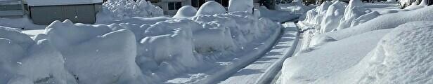 令和3年 北陸地方 富山県 大雪