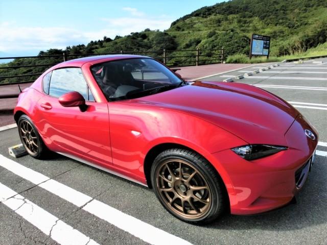 評判・人気の洗車傷消し効果に優れたカーコーティング/スーパーゼウスをマツダ/ROADSTERに施工したレビュー・口コミ