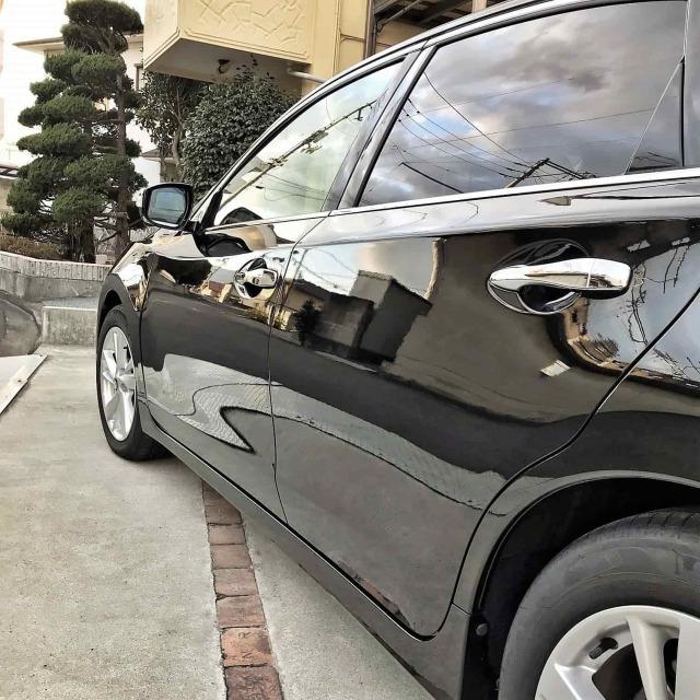 下地処理後シリコンオフで脱脂して硬化系コーティング剤を施工した光岡自動車 ガリューの評判・評価・おすすめ・口コミ