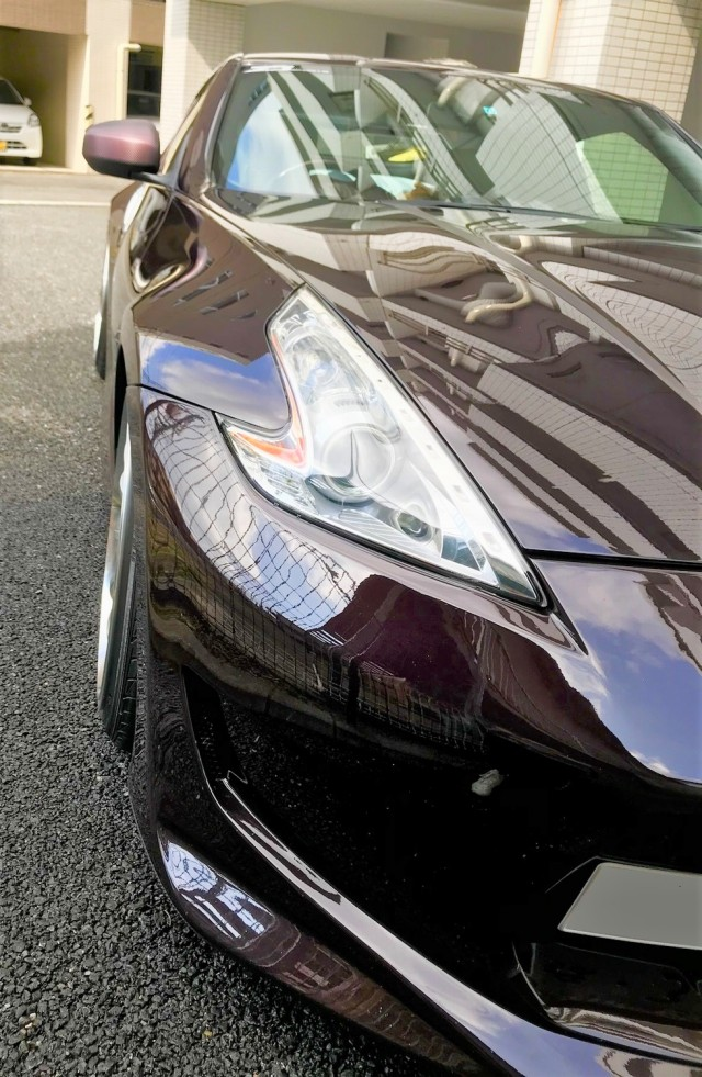 車のボディにキズがつきにくい洗車用ムートンクロスでニッサン/フェアレディZ34で洗車した評判・人気・評価・おすすめ・レビュー・口コミ