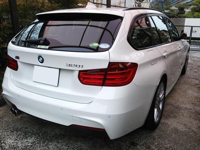 """BMW F31に""""本物志向""""のユーザー向け硬化コーティング『D・アーマー』を施工したコーティング評価・レビュー・口コミ"""