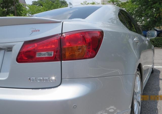 レクサスIS350にガラスコーティングの新たなベンチマーク『ゼウスα』を施工したコーティング評価・レビュー・口コミ