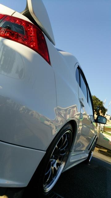 三菱 ランサーエボリューションXに新型ガラスコーティング『ゼウスα』を施工し、ずば抜けた艶と手触りに驚いたコーティング評価・レビュー・口コミ