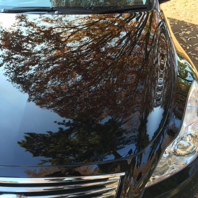 日産スカイラインクーペの新車の輝きをいつまでも保つ!新型ガラスコーティング『ゼウスα』を施工した評判・効果・レビュー・口コミ