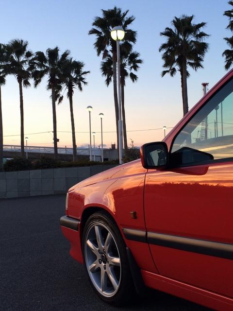 ボルボ850Rのホイールをブレーキダストから守る!硬化ガラスコーティング「ホイールコーティング」を施工したコーティング効果・評判・レビュー・口コミ