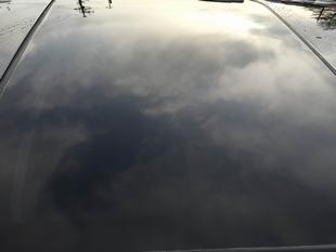 トヨタヴェルファイアに高耐久ガラス撥水コーティングのスーパービュークリアを施工したコーティング効果・評判・レビュー・口コミ