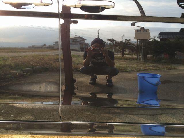 ホンダステップワゴンにポリマー系ガラスコーティングのファイングロスを施工したコーティング効果・評判・レビュー・口コミ