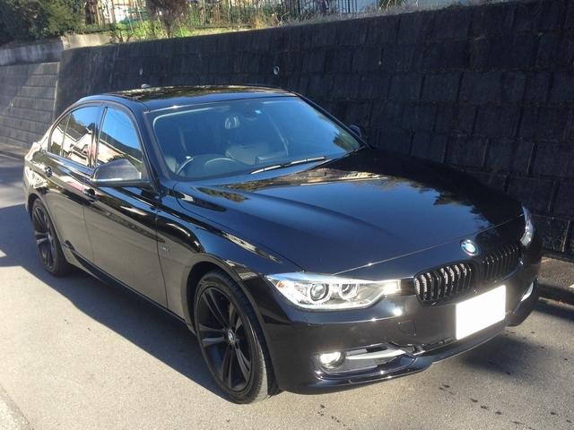 BMW F30に福袋限定商品のコーティング「スーパーゼウス」を施工したコーティング効果・評判・レビュー・口コミ