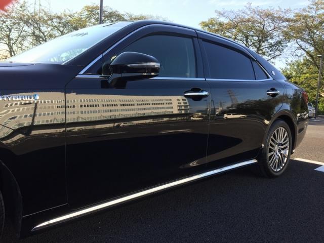 トヨタ クラウン マジェスタに洗車キズを消すコンパウンド/エクストラカットを施工した評判・人気・評価・おすすめ・レビュー・口コミ