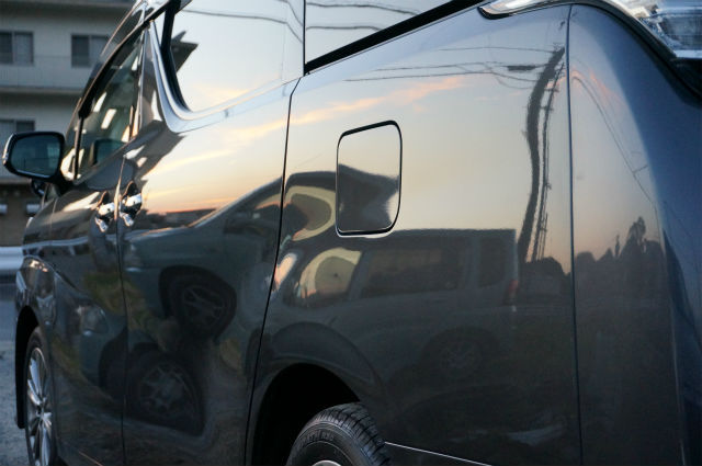 トヨタヴェルファイアに洗車傷の隠蔽、艶性能に優れたスーパーゼウスプレミアムを施工した評判・人気・評価・おすすめ・レビュー・口コミ
