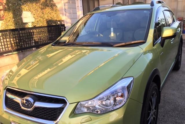 スバル XVハイブリッドに洗車傷を消し極上の艶にするスーパーゼウスpremiumを施工した評判・人気・評価・おすすめ・レビュー・口コミ