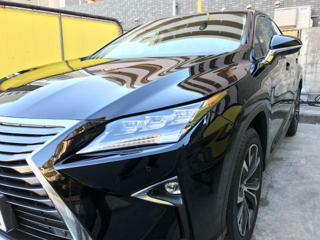 レクサス RX200tに艶・耐久に優れた硬化コーティングD・アーマーを施工した評判・人気・評価・おすすめ・レビュー・口コミ