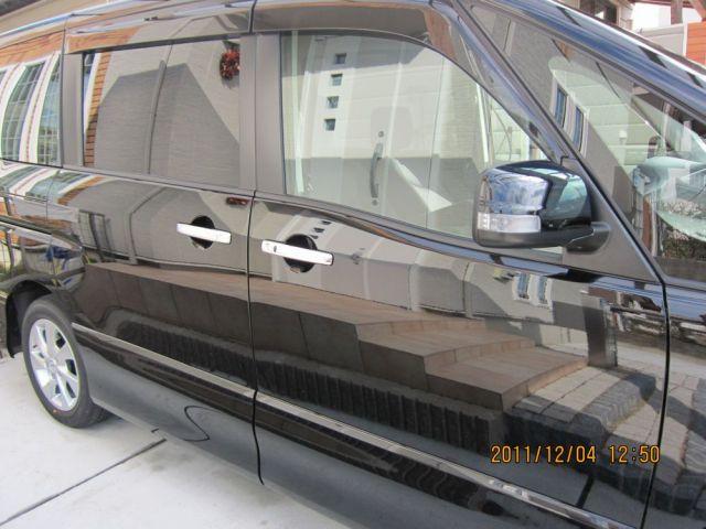 ガラスコーティング(硬化系+繊維系)W-SHIELDを施工した日産 セレナ
