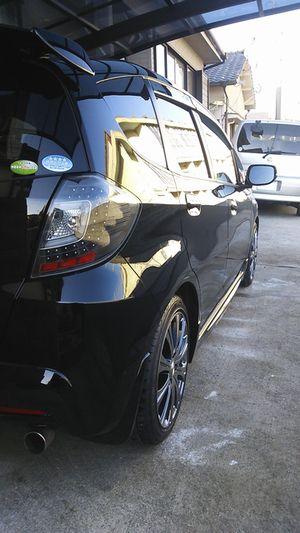 新型硬化系ガラスコーティング『D・アーマー(D・Armor)』を施工したホンダ・フィットのコーティング評価・口コミ