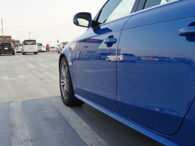 アウディ・A4 Avant S-lineのコーティング評価・口コミ。ゼウス、コンディショナー、HG-13520を使用。