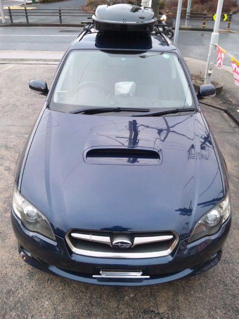 スバル・レガシィツーリングワゴンのコーティング評価・口コミ。MG-01150、2013年福袋を使用。