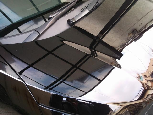 トヨタ・ノアのコーティング評価・口コミ。ミラーフィニッシュを使用。