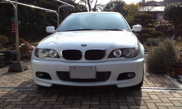 BMW・318ci−Mスポーツのコーティング評価・口コミ。ゼウス、ファイングロス、マイルドケアシャンプー、ほか多数使用。