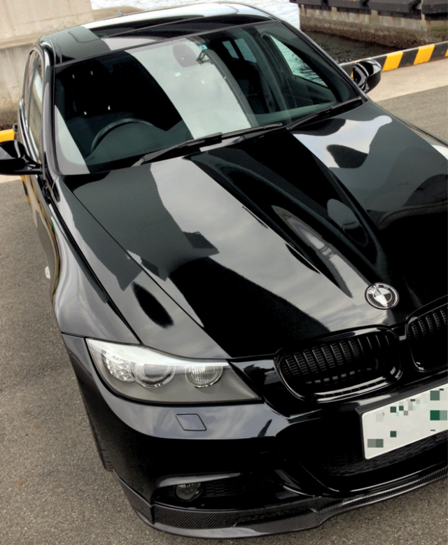 BMW・3シリーズのコーティング評価・口コミ。ゼウス、コーティングコンディショナーを使用。
