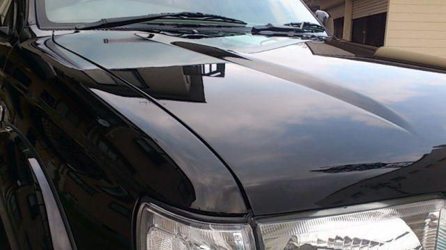 トヨタ・ハイラックスサーフのコーティング評価・口コミ。ハイブリッドナノガラスゼウスを使用。