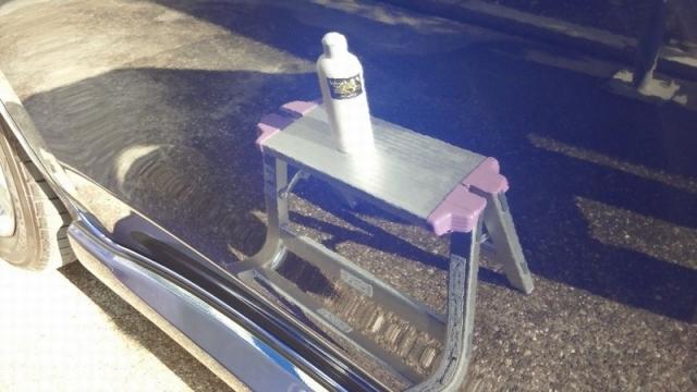 スバル エクシーガに一拭きで劇的な艶・撥水性能を実現!ガラスコーティング『ラスターベール』を施工したコーティング評価・レビュー・口コミ