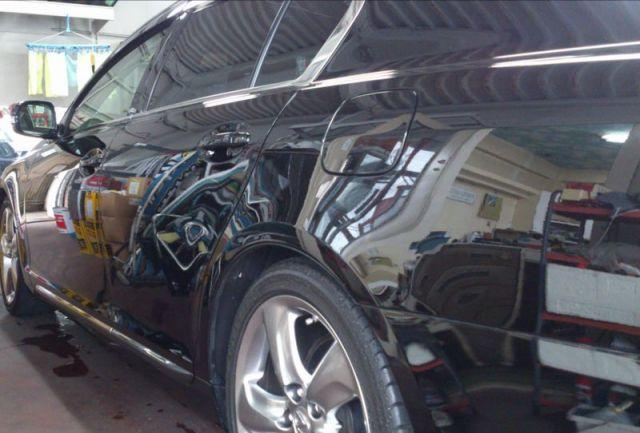 レクサス GS350に、鏡面仕上げコンパウンド『ミラーフィニッシュ』と『鉄粉除去剤』を施工したコーティング評価・レビュー・口コミ