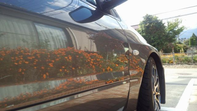 ミツビシ ランサーエボ9MRに泡立ちバツグンの洗車用カーシャンプー「パーフェクトシャンプー」を施工したコーティング評価・レビュー・口コミ