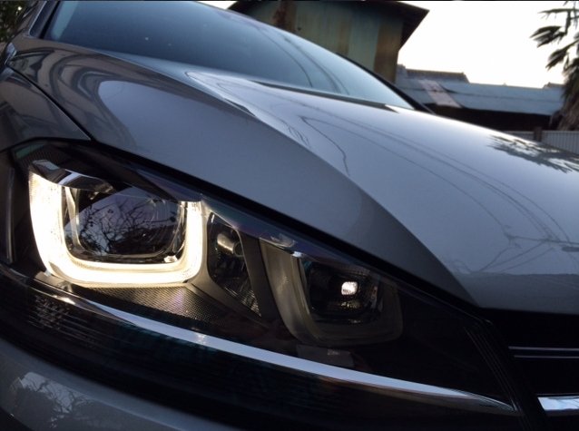 フォルクスワーゲン ゴルフ7に、本物のガラス被膜で強力コーティングする「D・アーマー」を施工したコーティング評価・レビュー・口コミ