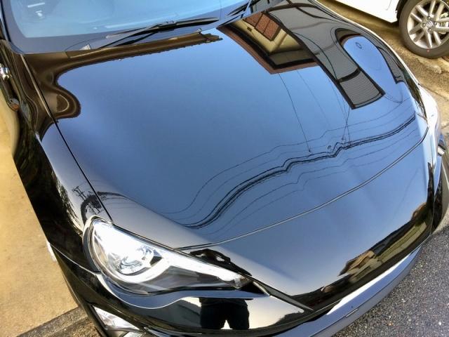 トヨタ86に、鉄粉クリーナーの決定版「鉄粉除去剤」とガラスコーティング全般のメンテナンスに最適な「コーティングコンディショナー」を施工したコーティング評価・レビュー・口コミ