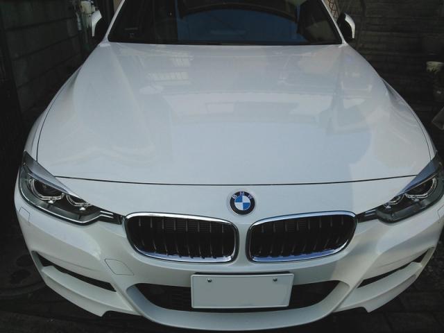BMWF31にDIYガラスコーティングの最高峰『ゼウス』を施工したコーティング評価・レビュー・口コミ