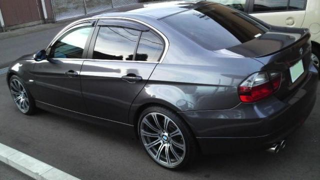 ガラスコーティング施工例 BMW ブラック
