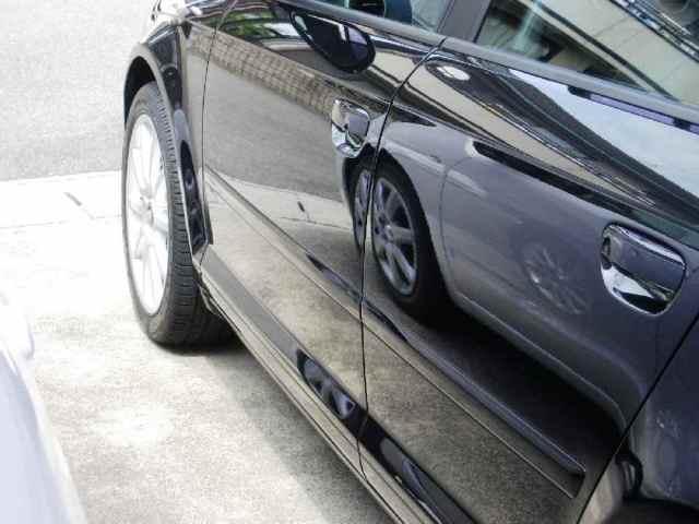ガラスコーティング施工例 Audi  黒メタル