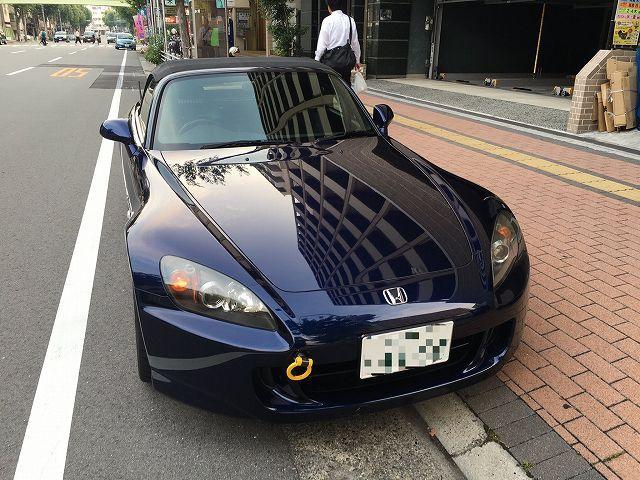 ホンダ S2000に洗車傷消し効果の高いカーコーティングスーパーゼウスを施工した評判・人気・評価・おすすめ・レビュー・口コミ