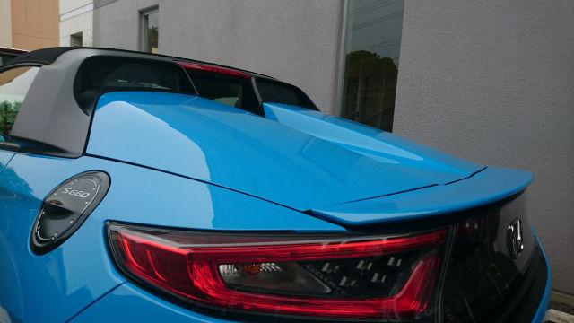 キズ消しや艶性能に優れた人気のカーコーティング/スーパーゼウスPremiumをホンダS660に施工した評判・評価・おすすめ・口コミ