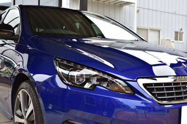 洗車傷消し効果の高いカーコーティング/スーパーゼウスをプジョー/308に施工した評判・人気・評価・おすすめ・レビュー・口コミ