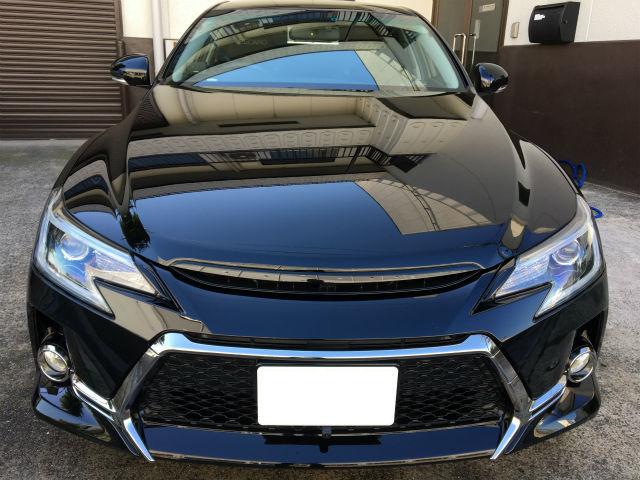 洗車傷消し効果の高いカーコーティング/スーパーゼウスをトヨタ/マークX G'Sに施工した評判・人気・評価・おすすめ・レビュー・口コミ