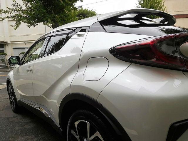 艶・キズ消し性能に優れたコーティング/スーパーゼウスをトヨタ/C-HRに施工した評判・評価・おすすめ・口コミ
