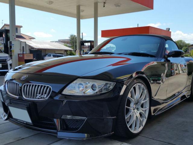 評判・人気の洗車傷消し効果に優れたカーコーティング/スーパーゼウスをBMW/Z4に施工した評価・おすすめ・レビュー・口コミ